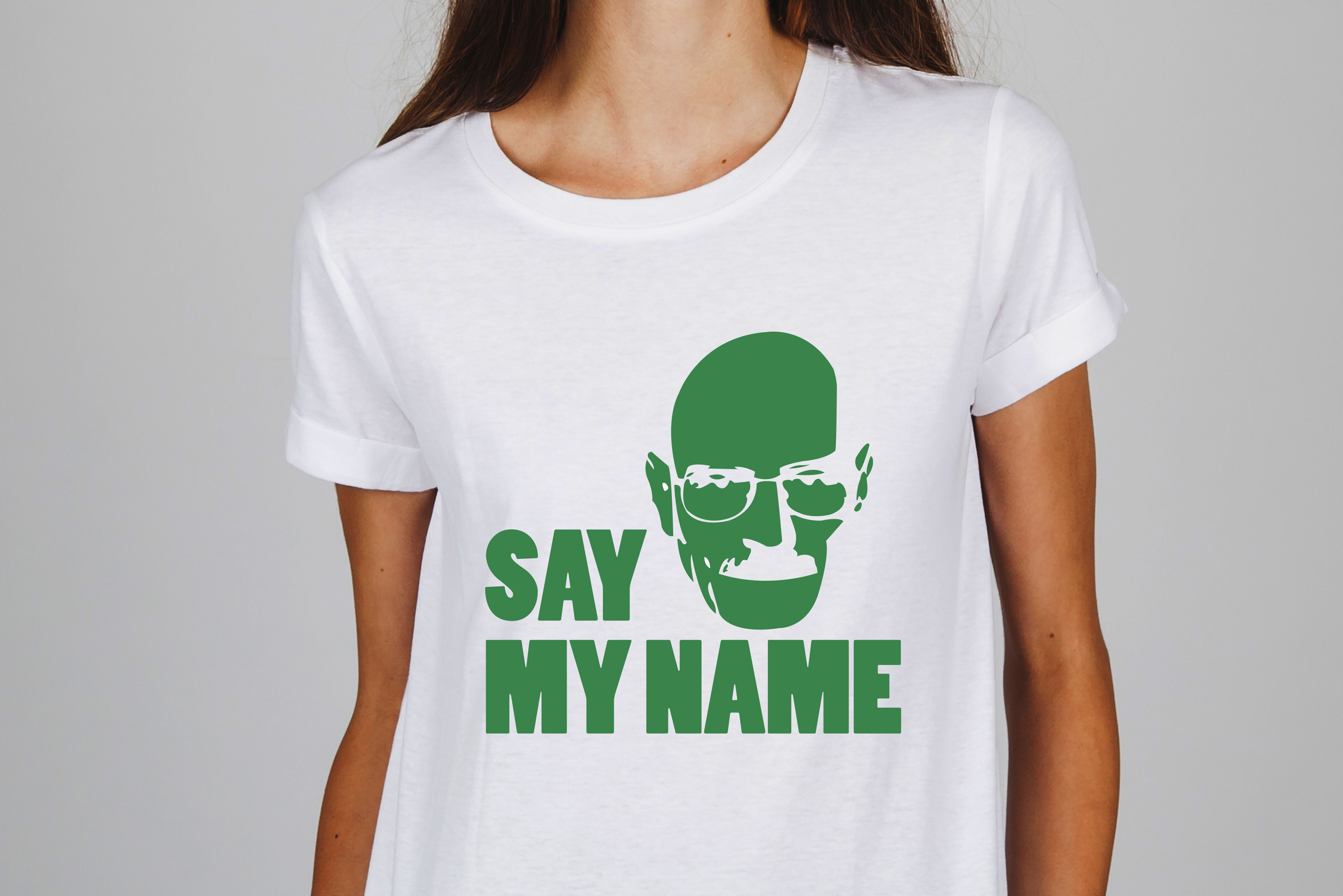 camiseta breaking bad say my name trem chiq. Black Bedroom Furniture Sets. Home Design Ideas